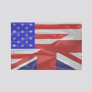 Union Jack and Stars and Stripes Magnets