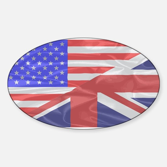 Union Jack and Stars and Stripes Decal