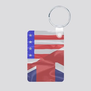 Union Jack and Stars and Stripes Keychains