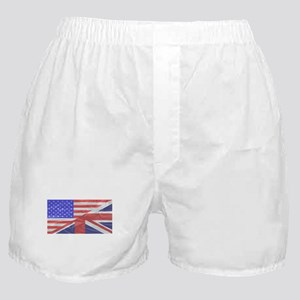 Union Jack and Stars and Stripes Boxer Shorts
