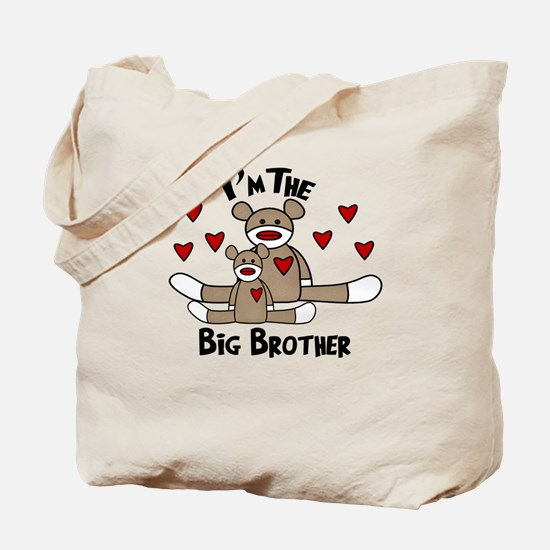 I'm The Big Brother SOCK MONK Tote Bag