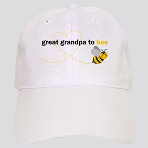 Great Grandpa To Bee Baseball Cap