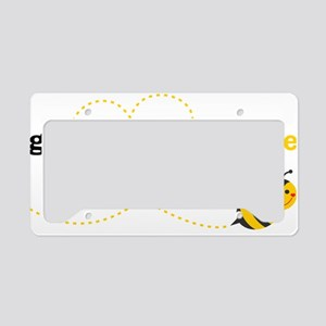 Great Grandpa To Bee License Plate Holder