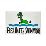 T Rex Hates Swimming Magnets