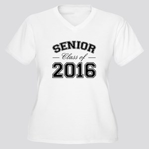 Senior Class Of 2016 Women's Plus Size V-Neck T-Sh