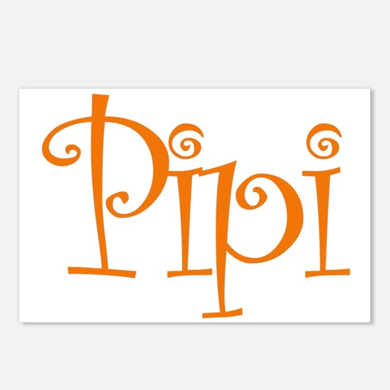 Pipi Postcards (Package of 8)