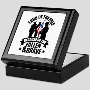 Fallen & Brave Keepsake Box