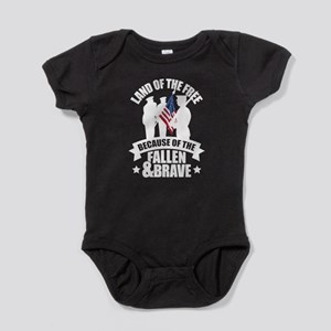 Fallen & Brave Baby Bodysuit