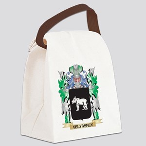 Velyashev Coat of Arms - Family C Canvas Lunch Bag