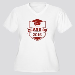 Class Of 2016 Women's Plus Size V-Neck T-Shirt