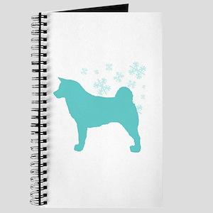 Akita Snowflake Journal