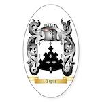 Tigue Sticker (Oval 50 pk)
