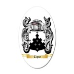 Tigue 20x12 Oval Wall Decal