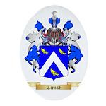 Tienke Oval Ornament