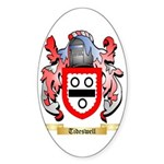 Tideswell Sticker (Oval)