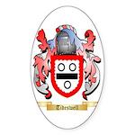 Tideswell Sticker (Oval 50 pk)