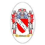 Tidbury Sticker (Oval)