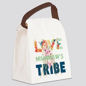 LOVE TRIBE PERSONALIZE Canvas Lunch Bag