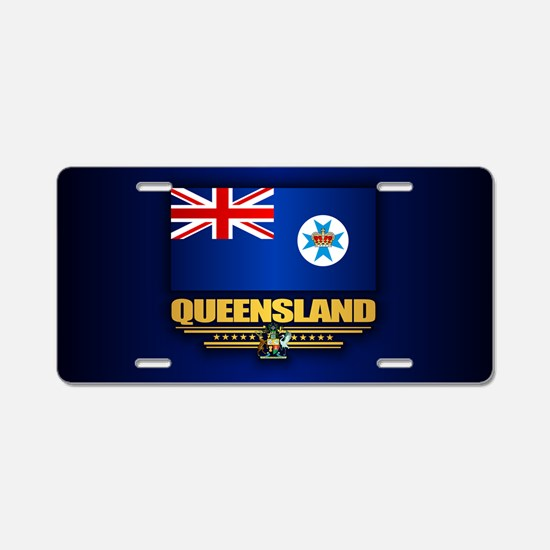 Queensland Flag Aluminum License Plate