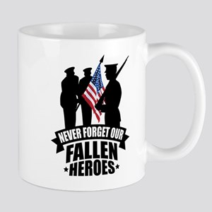 Never Forget Fallen Mug