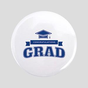 """Congratulations Grad 3.5"""" Button"""