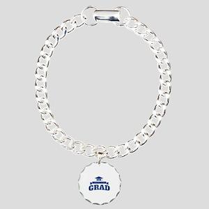 Congratulations Grad Charm Bracelet, One Charm