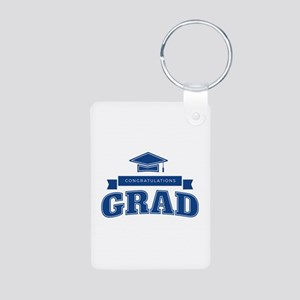 Congratulations Grad Aluminum Photo Keychain