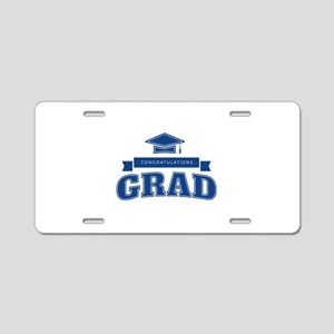 Congratulations Grad Aluminum License Plate