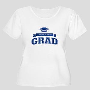 Congratulations Grad Women's Plus Size Scoop Neck