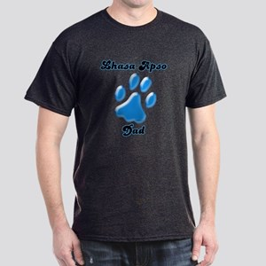 Lhasa Apso Dad3 Dark T-Shirt