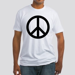 Peace Out Fitted T-Shirt