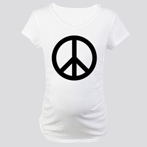 Peace Out Maternity T-Shirt
