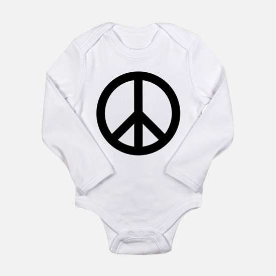 Peace Out Long Sleeve Infant Bodysuit