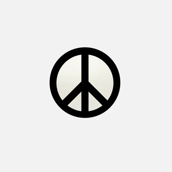 Peace Out Mini Button