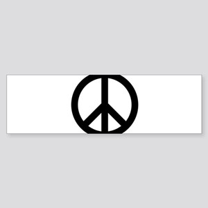 Peace Out Sticker (Bumper)