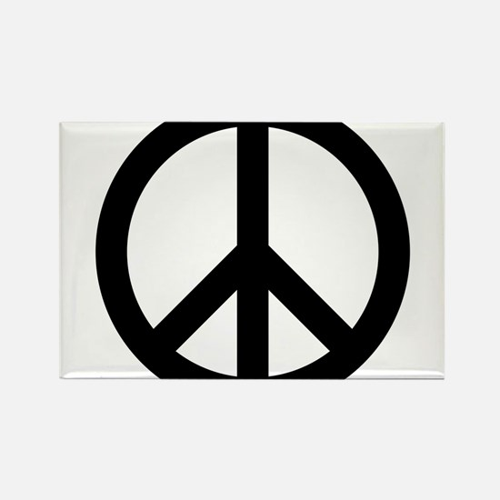 Peace Out Rectangle Magnet (100 pack)