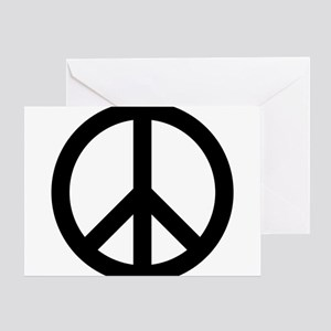 Peace Out Greeting Card