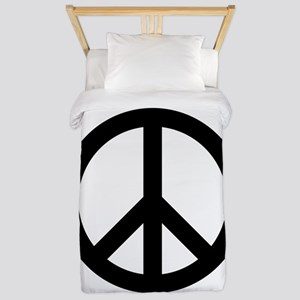 Peace Out Twin Duvet