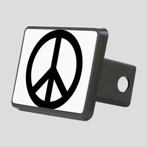Peace Out Rectangular Hitch Cover