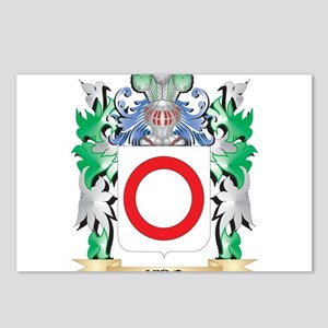 Vido Coat of Arms - Famil Postcards (Package of 8)