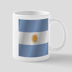Argentina flag Mugs