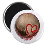 Pluto Love Magnet Magnets