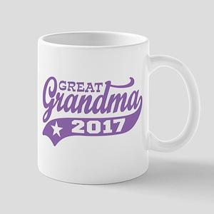 Great Grandma 2017 Mug