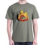 Rebel Kitty Dark T-Shirt