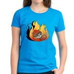 Rebel Kitty Women's Dark T-Shirt