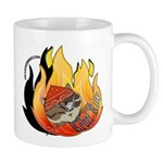 Rebel Kitty Mug Mugs