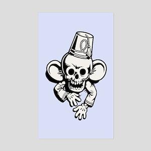 Turk Monkey Stan Sticker (Rectangle)