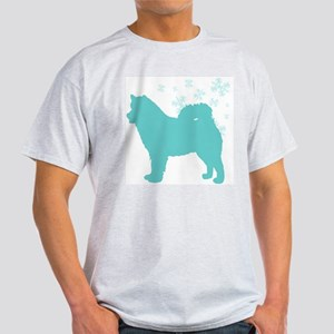 Alaskan Malamute Snowflake Light T-Shirt