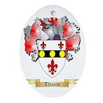 Thwaits Oval Ornament