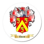 Thurot Round Car Magnet
